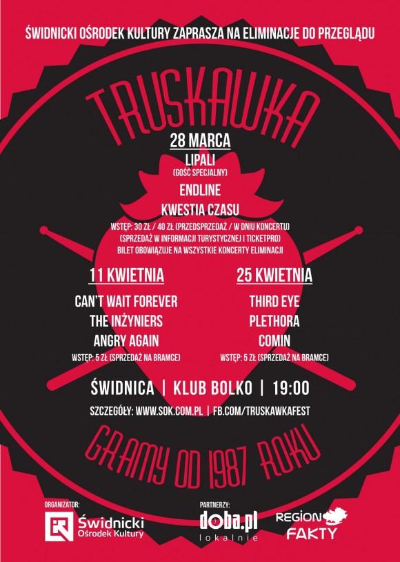 Truskawka 2015 plakat eliminacje tn