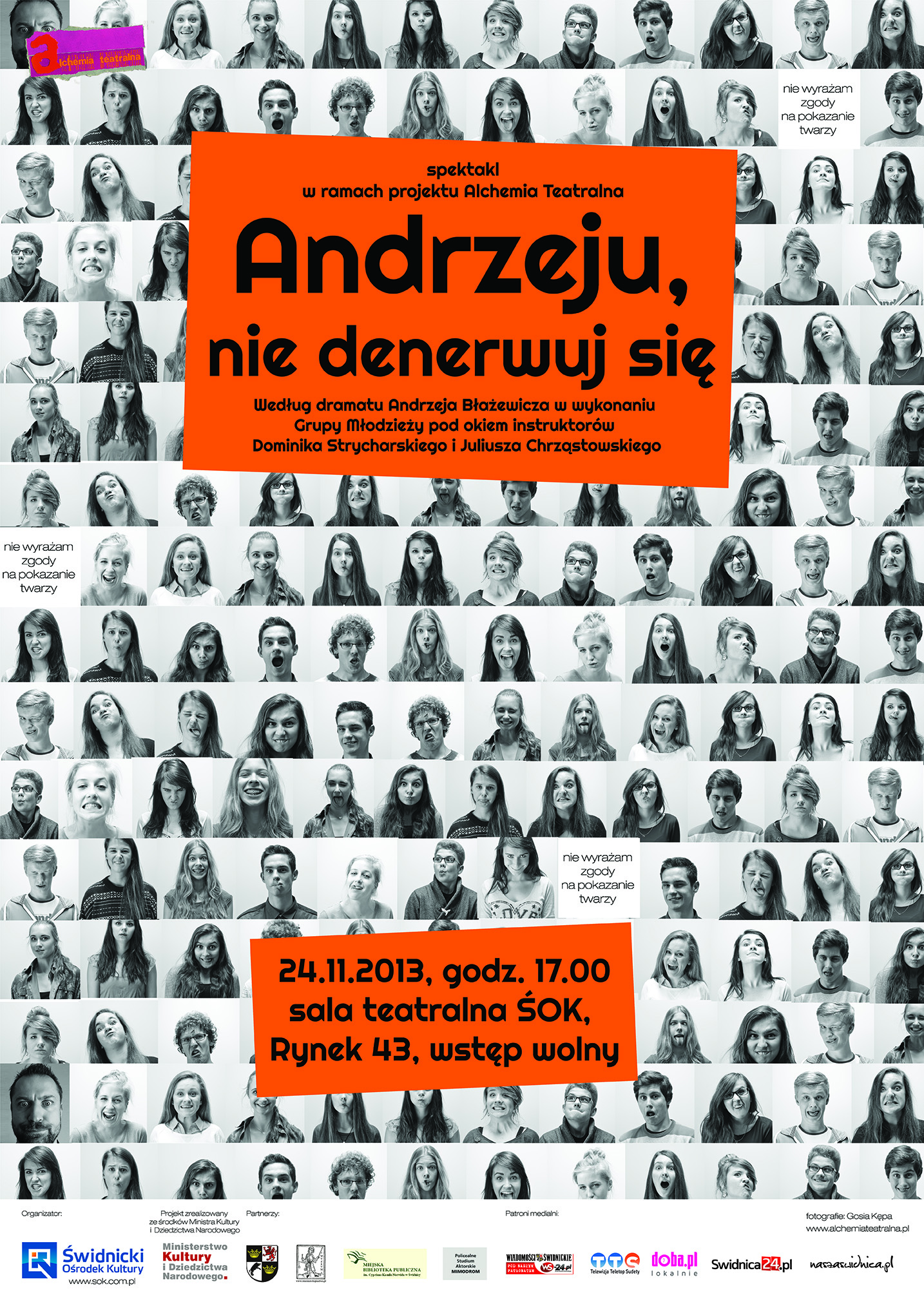 Alchemia Teatralna: Andrzeju, nie denerwuj się [spektakl]
