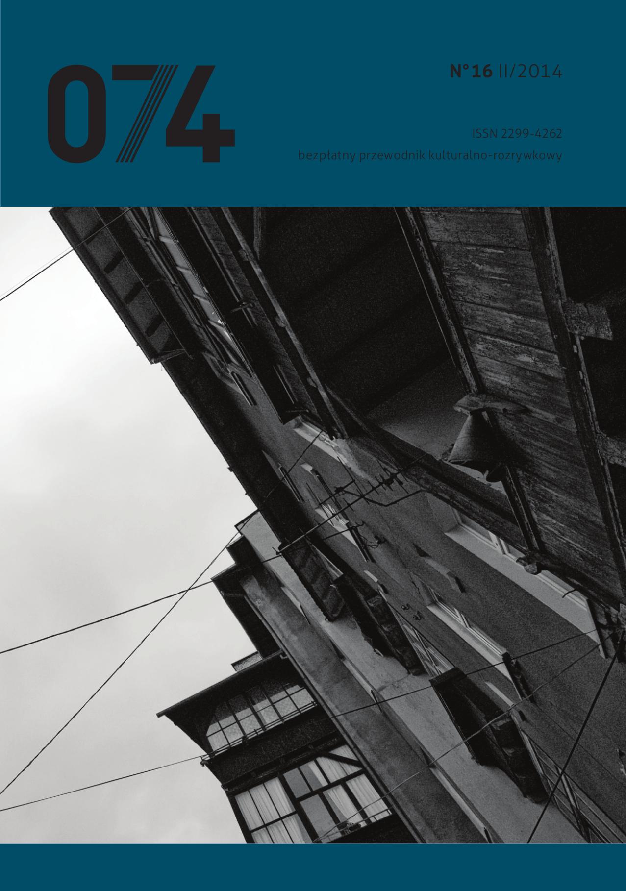 074: informator kulturalno-rozrywkowy (nr 16)