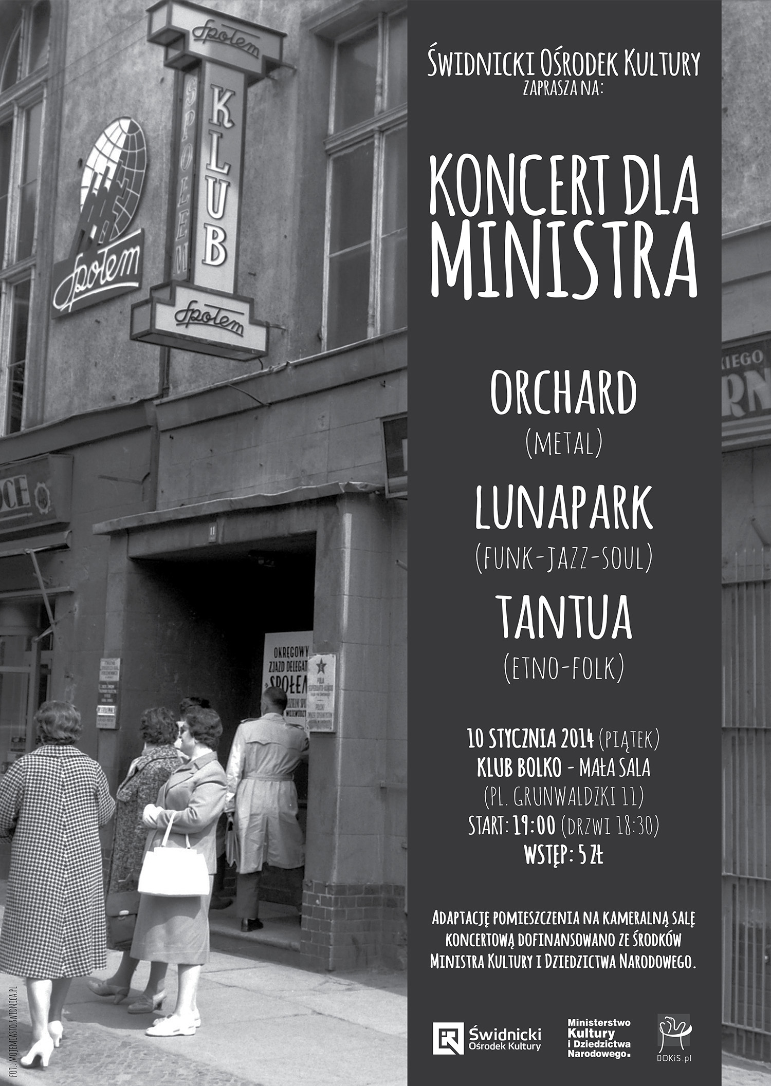 Orchard + Tantua + Lunapark + The Floorators [koncert]