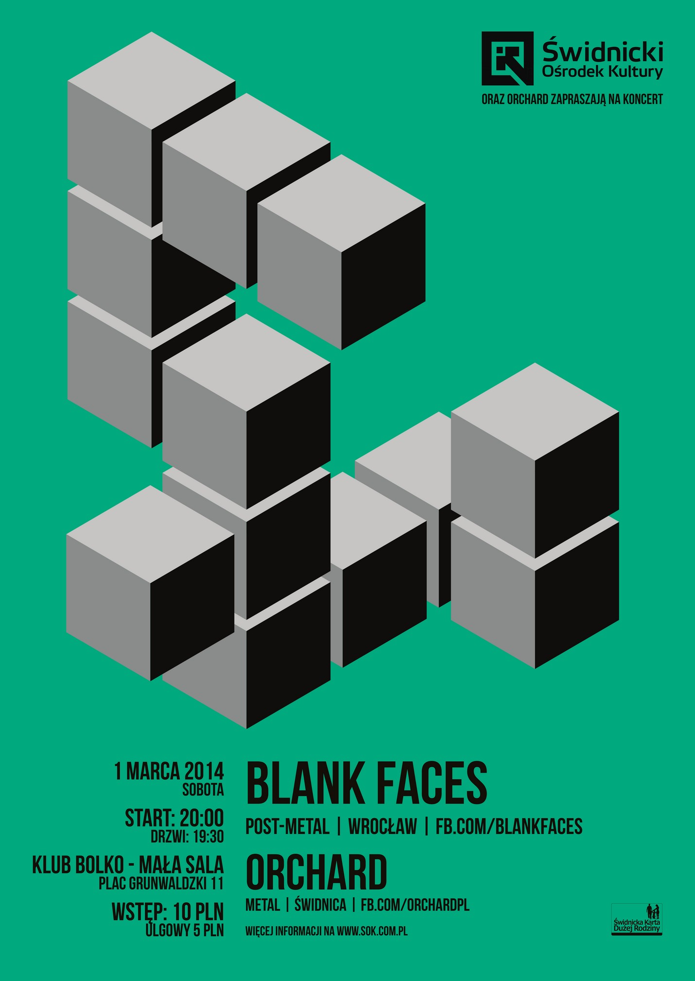 Blank Faces + Orchard [koncert]