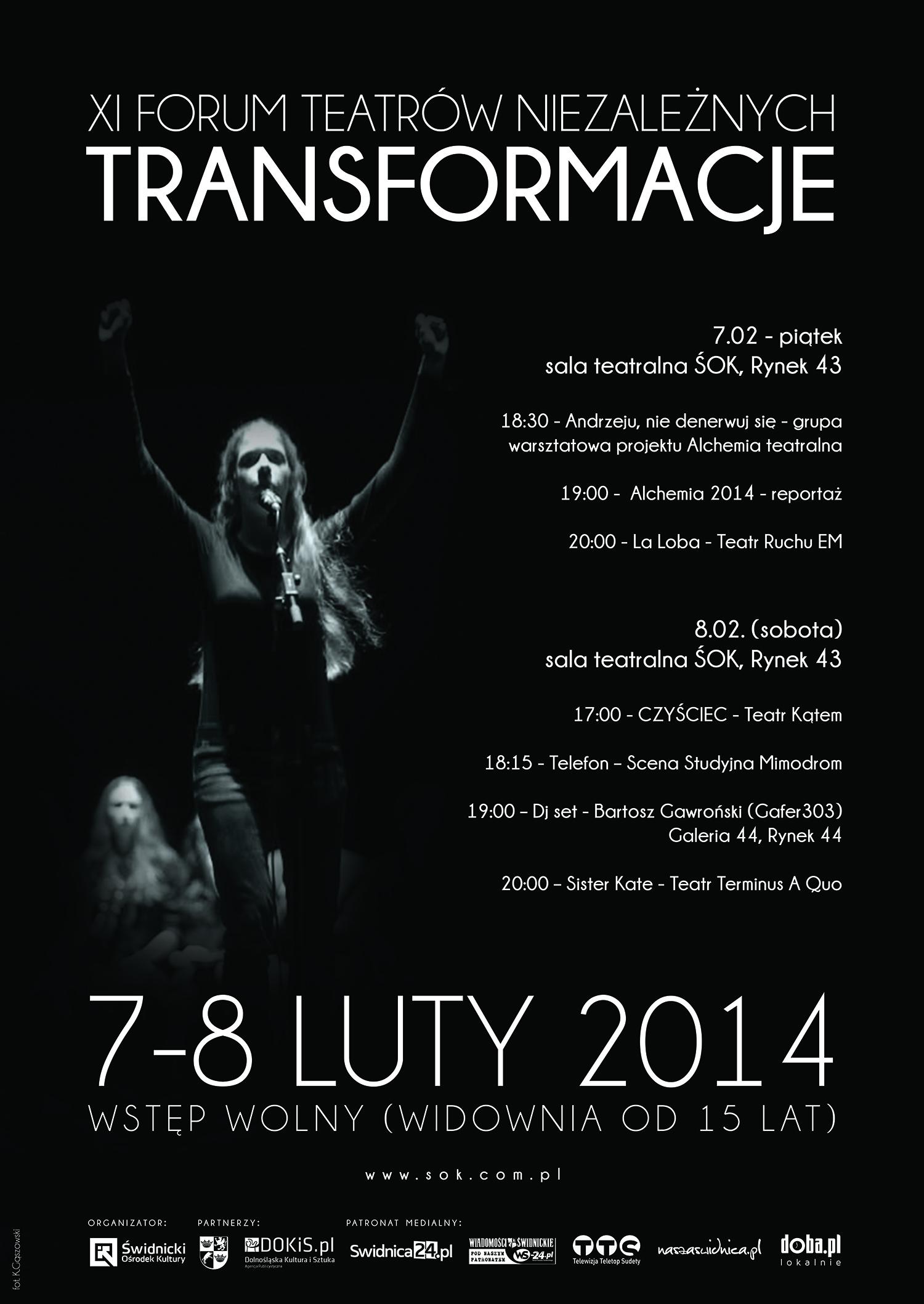 Transformacje: XI Forum Teatrów Niezależnych