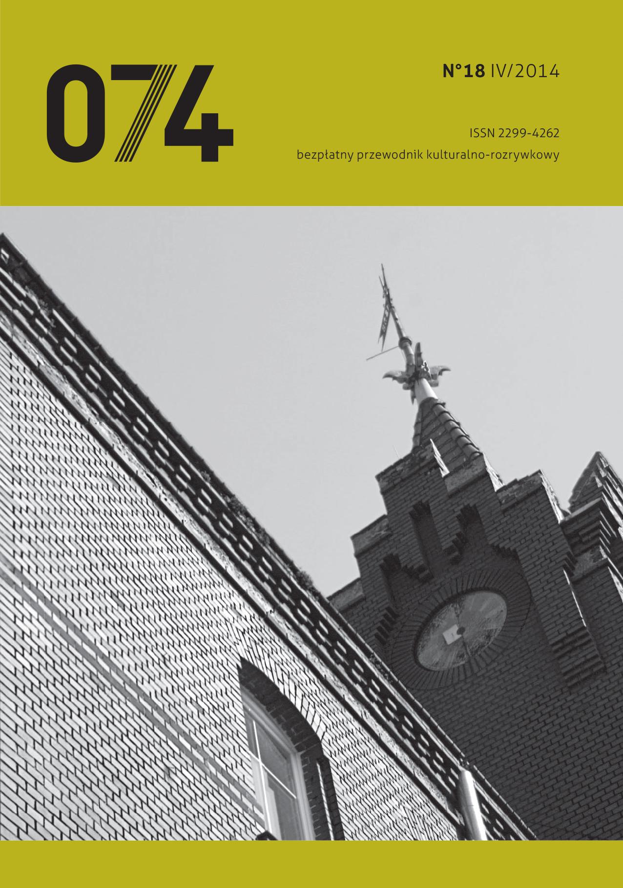 074: informator kulturalno-rozrywkowy (nr 18)