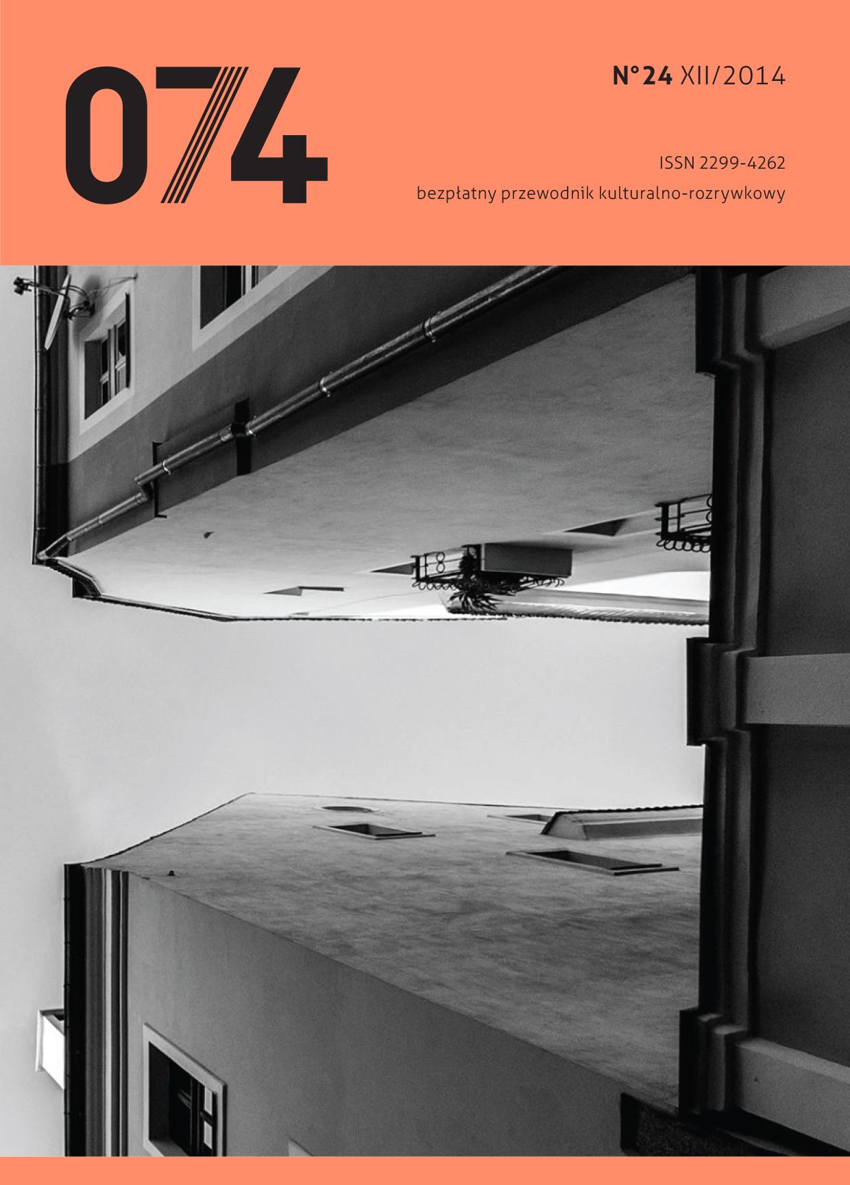 074: informator kulturalno-rozrywkowy (XII 2014)