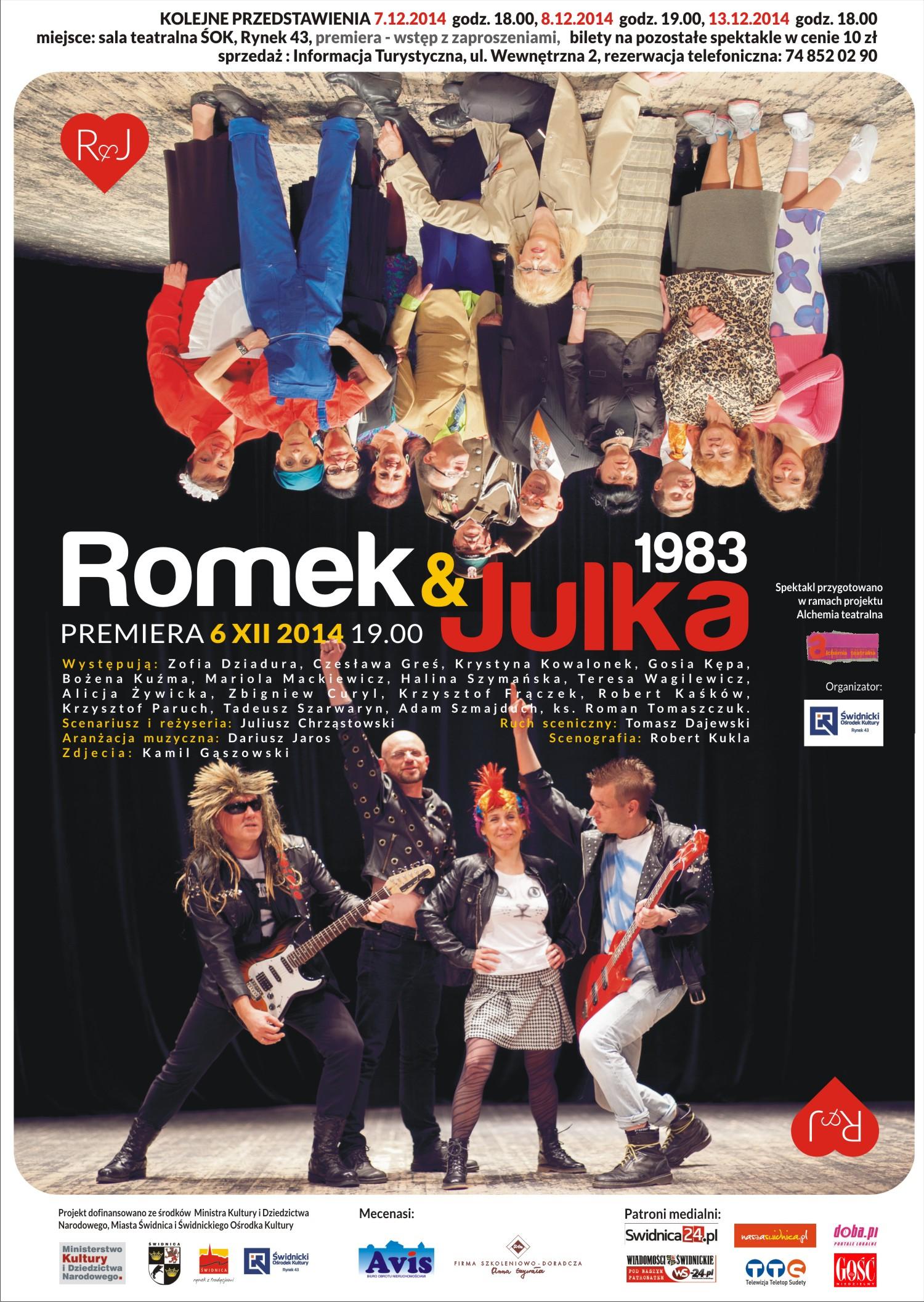 Alchemia Teatralna: Romek i Julka 1983 [spektakl]