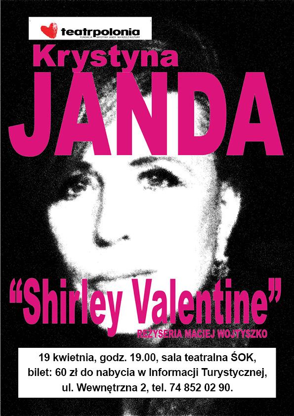 Shirley Valentine - monodram Krystyny Jandy