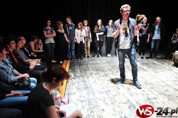 Alchemia Teatralna: Improwizacje (foto: ws-24.pl / Wiktor Bąkiewicz)
