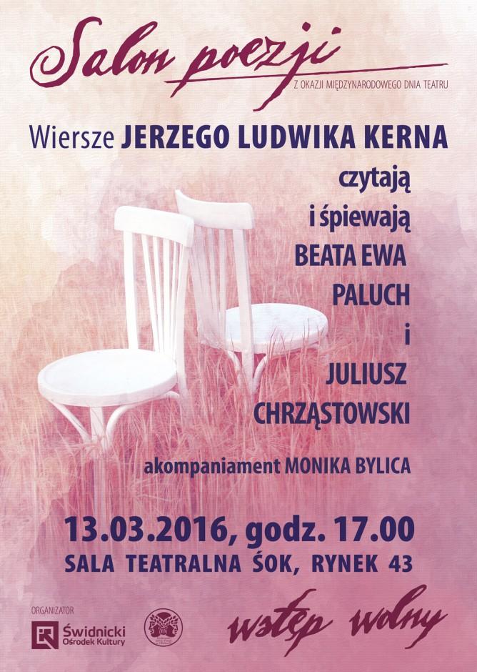 Salon Poezji Ludwik Jerzy Kern B Paluch I J Chrząstowski