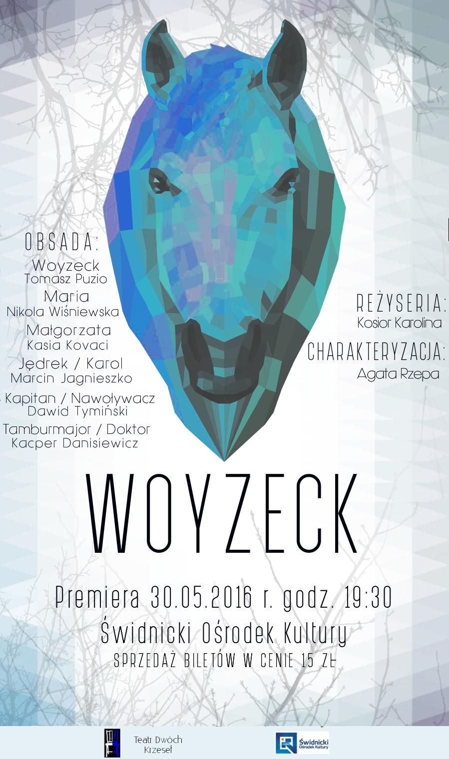 Woyzeck u2013 spektakl teatralny u015awidnicki O u015brodek Kultury
